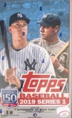 2019 Topps Series 1 MLB Baseball Hobby Box