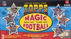2010 Topps Magic NFL Football Box