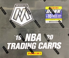 2019-20 Panini Mosaic NBA Basketball Fast Break Box