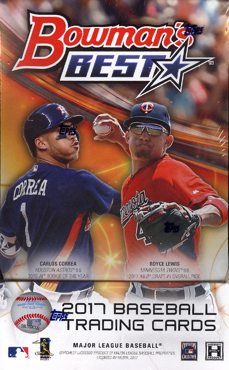 2017 Bowmans Best MLB Baseball Hobby Box