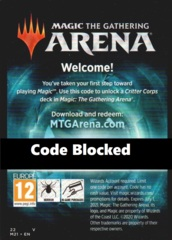Unused MTG Arena Code Card: M21 Critter Corps Deck (LIMIT 1 PER ACCOUNT!)