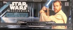 2019 Topps Star Wars Masterwork Trading Cards Hobby Box