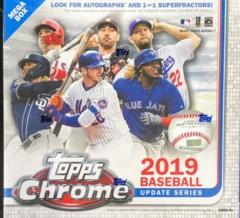 2019 Topps Chrome Update Series MLB Baseball Mega Box