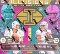 2020 Panini Illusions NFL Football Hobby Box