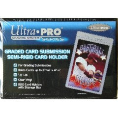 Semi-Rigid Graded Card Holders (200ct.)