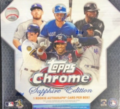 2020 Topps Chrome Sapphire Edition MLB Baseball Hobby Box