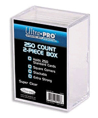 Ultra Pro Plastic 2-piece Box 250-count