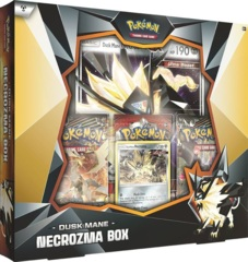 Dusk Mane Necrozma INTERNATIONAL BOX