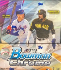 2019 Bowman Chrome MLB Baseball Hobby Box
