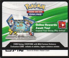 Rebel Clash: Unused Booster Pack TCGO Code Card