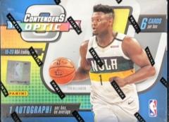 2019-20 Panini Contenders Optic NBA Basketball Hobby Box