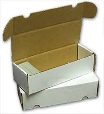 550 Count Cardboard Storage Box - White