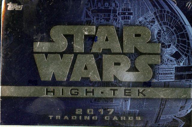 2017 Topps Star Wars High Tek Trading Cards Hobby Box