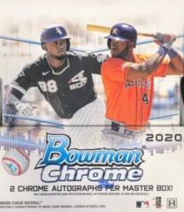 2020 Bowman Chrome MLB Baseball Hobby Box