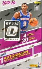 2019-20 Panini Donruss Optic NBA Basketball Hobby Box