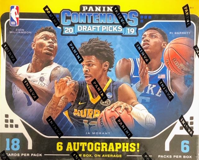 2019 Panini Contenders Draft Picks Collegiate Basketball Hobby Box