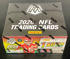 2020 Panini Mosaic NFL Football No Huddle Box