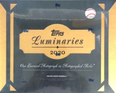 2020 Topps Luminaries MLB Baseball Hobby Box