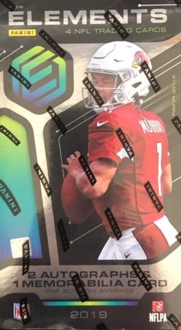 2019 Panini Elements NFL Football Hobby Box