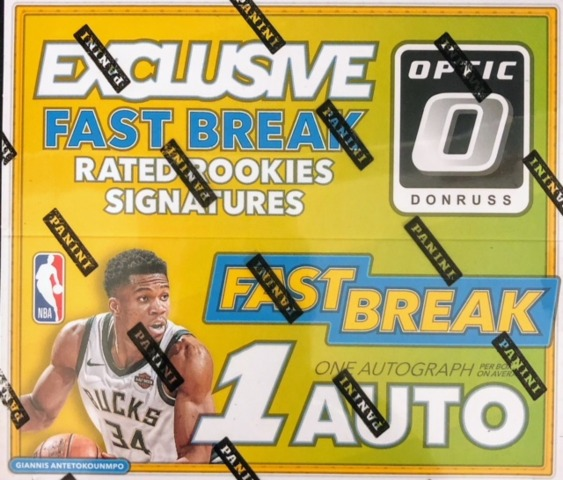 2017-18 Panini Donruss Optic NBA Basketball Fast Break Box