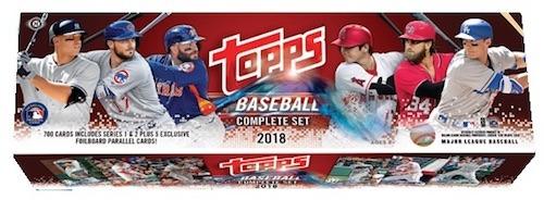 2018 Topps MLB Baseball Complete Factory Sealed Set - Hobby Edition