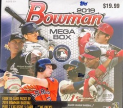 2019 Bowman MLB Baseball Mega Box