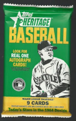 2013 Topps Heritage MLB Baseball Hobby Pack