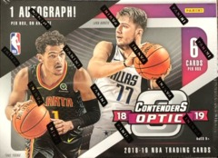 2018-19 Panini Contenders Optic NBA Basketball Hobby Box