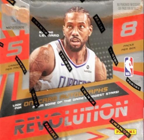 2019-20 Panini Revolution NBA Basketball Hobby Box