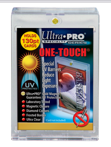 Ultra Pro 130pt Magnetic Closure One-Touch Card Holder