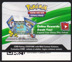 Celestial Storm: Unused Booster Pack TCGO Code Card