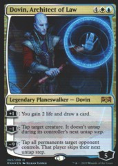 Dovin, Architect of Law (265/259) FOIL - Ravnica Allegiance Planeswalker Deck Exclusive