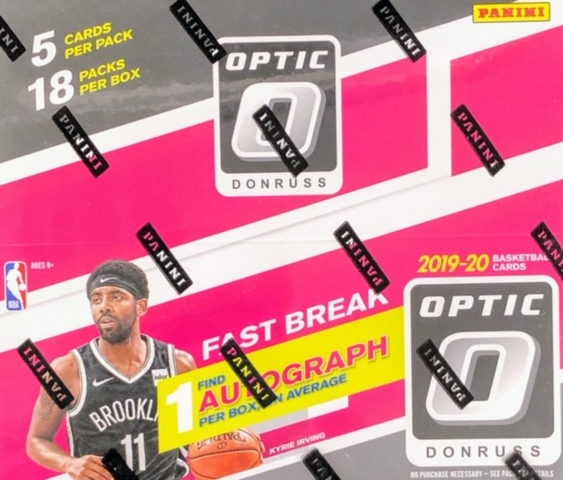 2019-20 Panini Donruss Optic NBA Basketball Fast Break Box