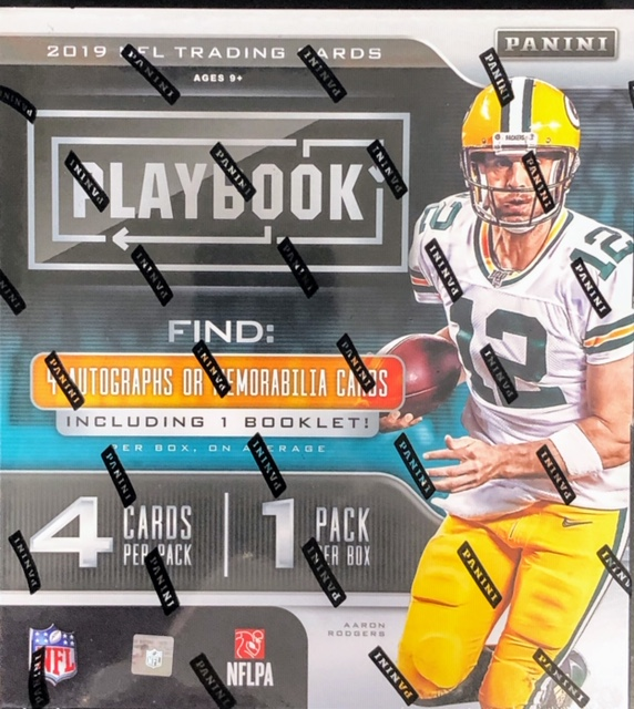 2019 Panini Playbook NFL Football Hobby Box