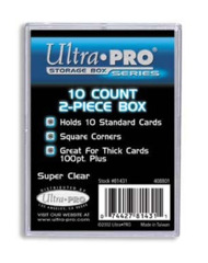 Ultra Pro Plastic 2-piece Box 10-count