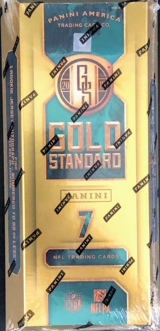 2019 Panini Gold Standard NFL Football Hobby Box