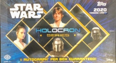 2020 Topps Star Wars Holocron Series Trading Cards Hobby Box