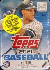 2021 Topps Series 1 MLB Baseball Tin Box