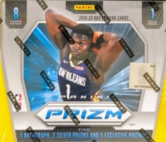 2019-20 Panini Prizm NBA Basketball Choice Box
