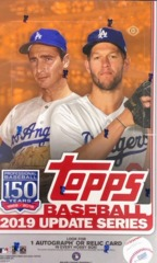 2019 Topps Update Series MLB Baseball Hobby Box
