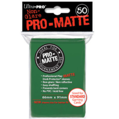 Ultra Pro - Pro Matte Standard Sleeves - Green (50ct)