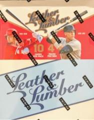 2019 Panini Leather & Lumber Baseball Hobby Box