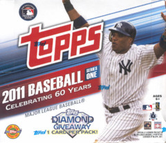 2011 Topps Series 1 MLB Baseball Jumbo Box