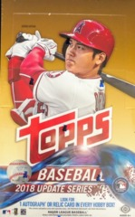 2018 Topps Update Series MLB Baseball Hobby Box