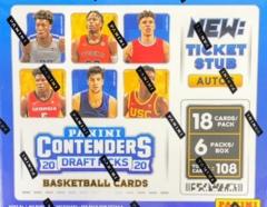 2020-21 Panini Contenders Draft Picks Basketball Hobby Box