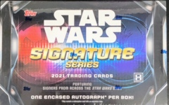 2021 Topps Star Wars Signature Series Trading Cards Hobby Box