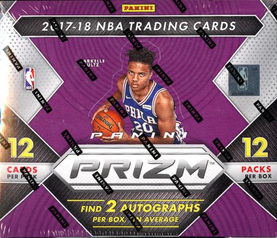 2017-18 Panini Prizm NBA Basketball Hobby Box