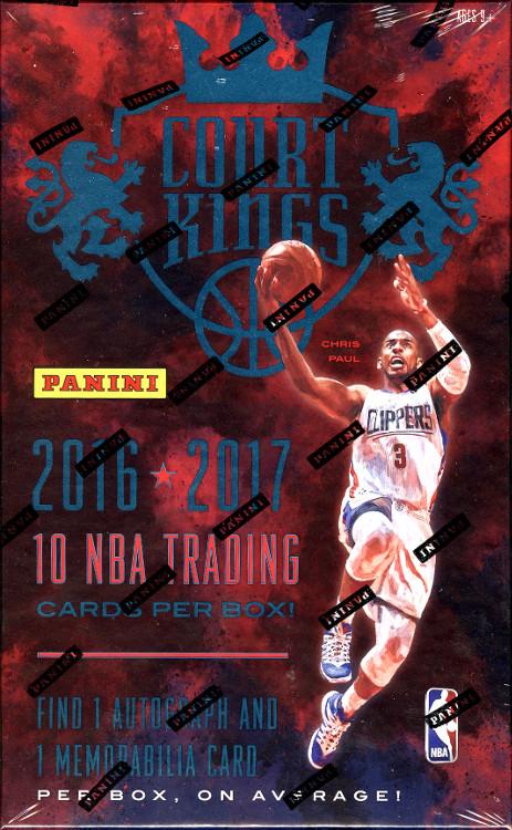 2016-17 Panini Court Kings NBA Basketball Hobby Box