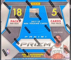 2017-18 Panini Prizm NBA Basketball Fast Break Box