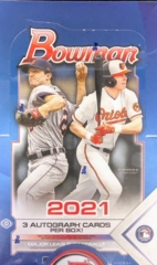 2021 Bowman MLB Baseball Jumbo Box